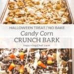 Candy Corn Crunch Bark