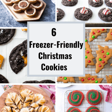 freezer friendly Christmas cookies