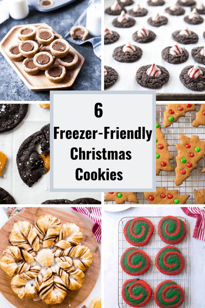 freezer friendly Christmas cookies