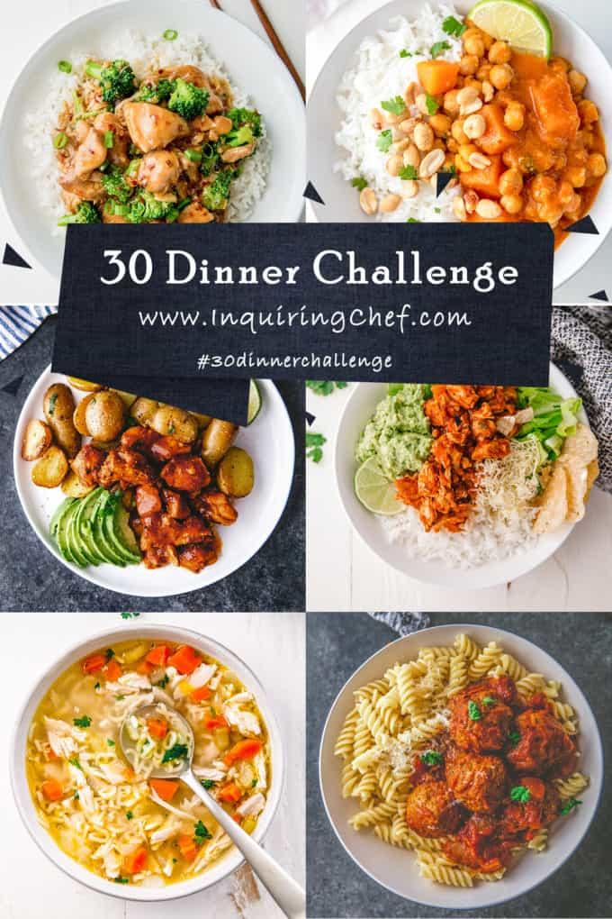 30 Dinner Challenge
