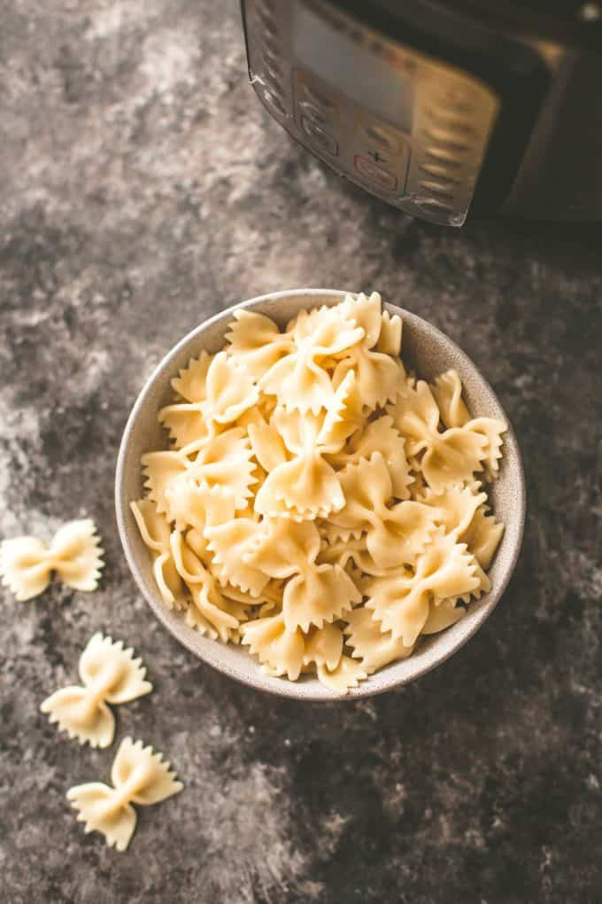how to cook pasta in the instant pot
