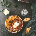 slow cooker shakshuka