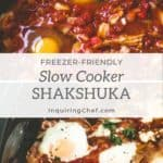 slow cooker shakshuke