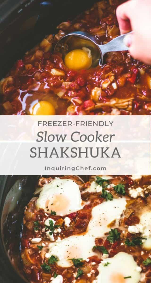 slow cooker shakshuke