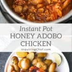 honey adobo chicken