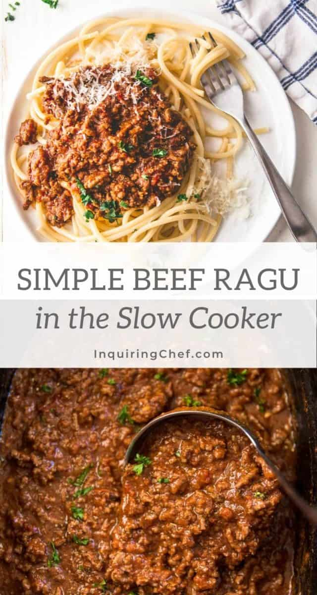 Simple Beef Ragu