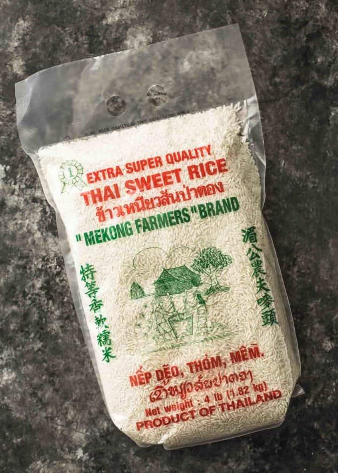 Thai sweet rice