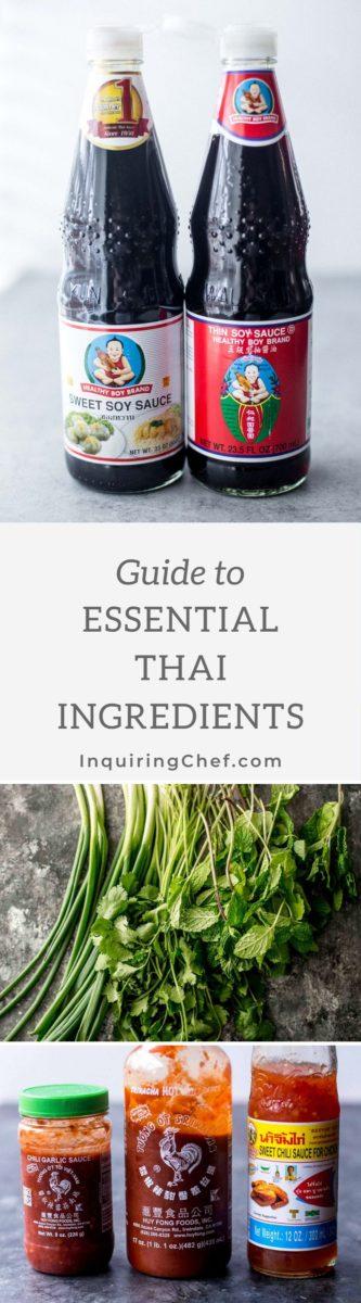 essential thai ingredients