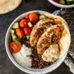 mediterranean chicken quinoa bowl