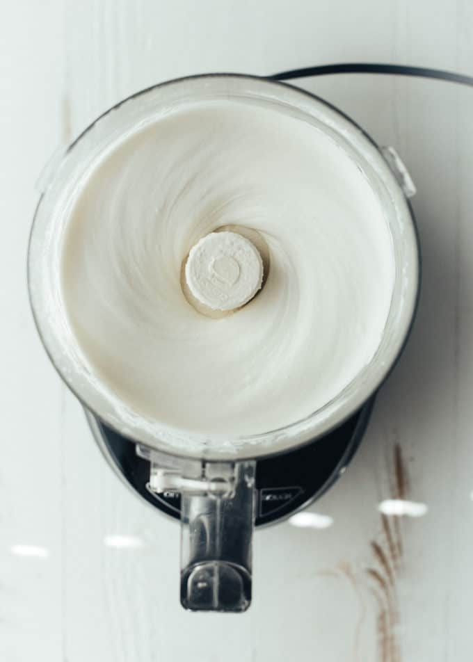 cheesecake mix in food processor