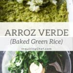 Baked Green Rice (Arroz Verde)