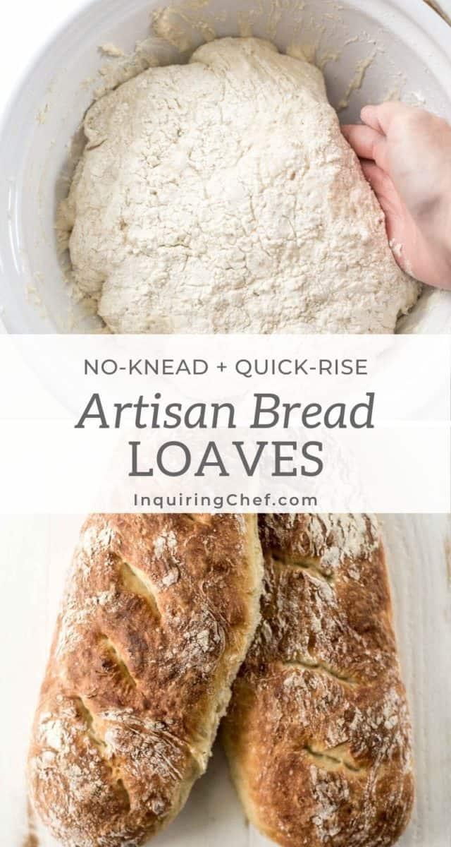No-Knead French bread