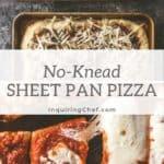 No-Knead Sheet Pan Pizza