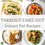 Takeout Fakeout Instant Pot