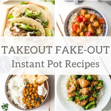 10 Takeout Fake-out recipes in Insta