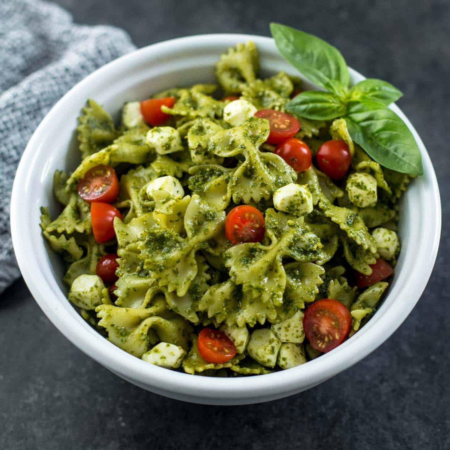 Pasta Salad Recipe Pesto