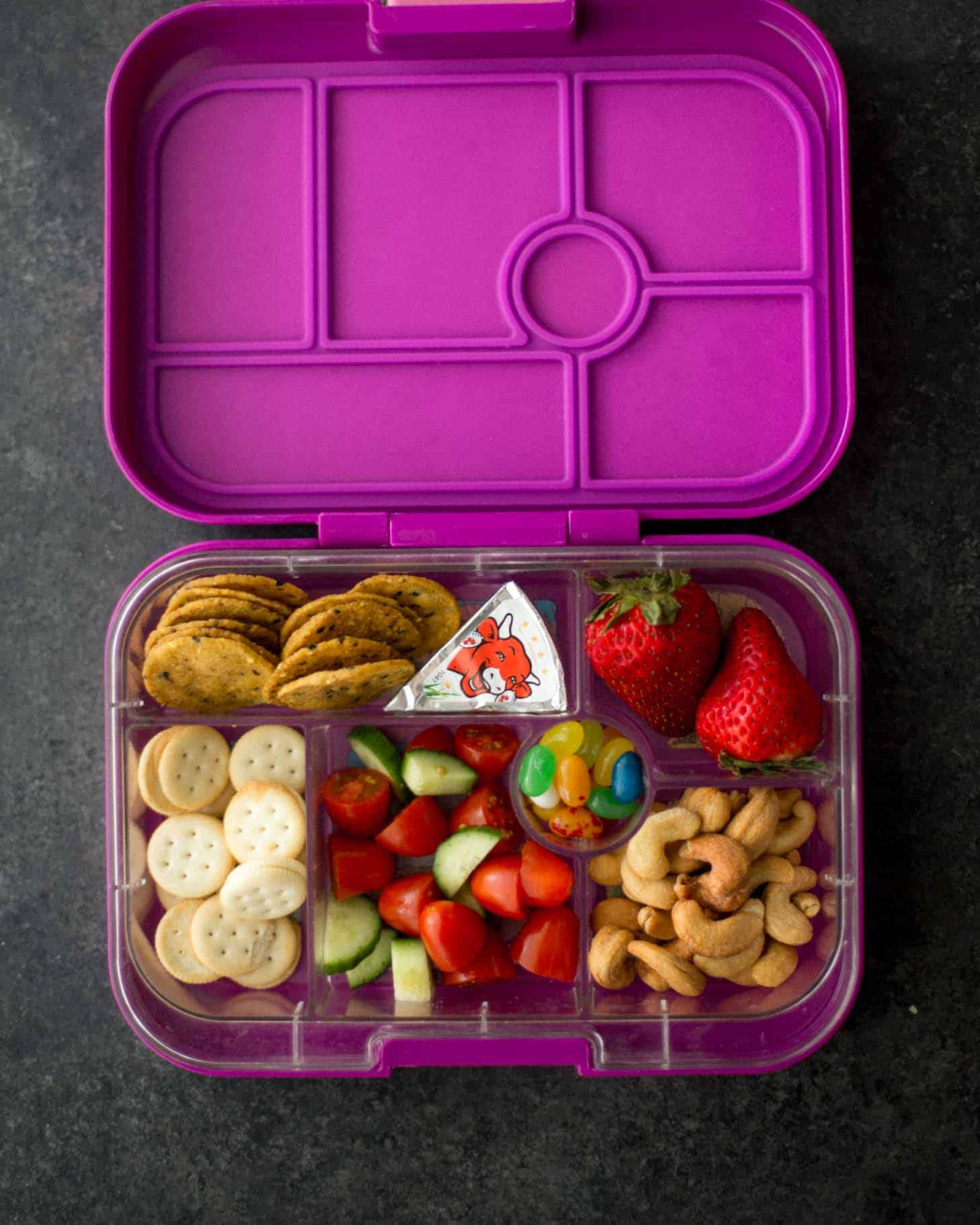 Yumbox Classic packed with Bento lunch
