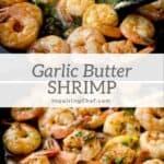 Lemony Garlic Butter Shrimp