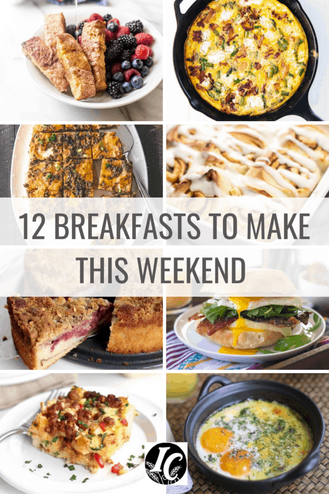 12 breakfasts to make this weekend