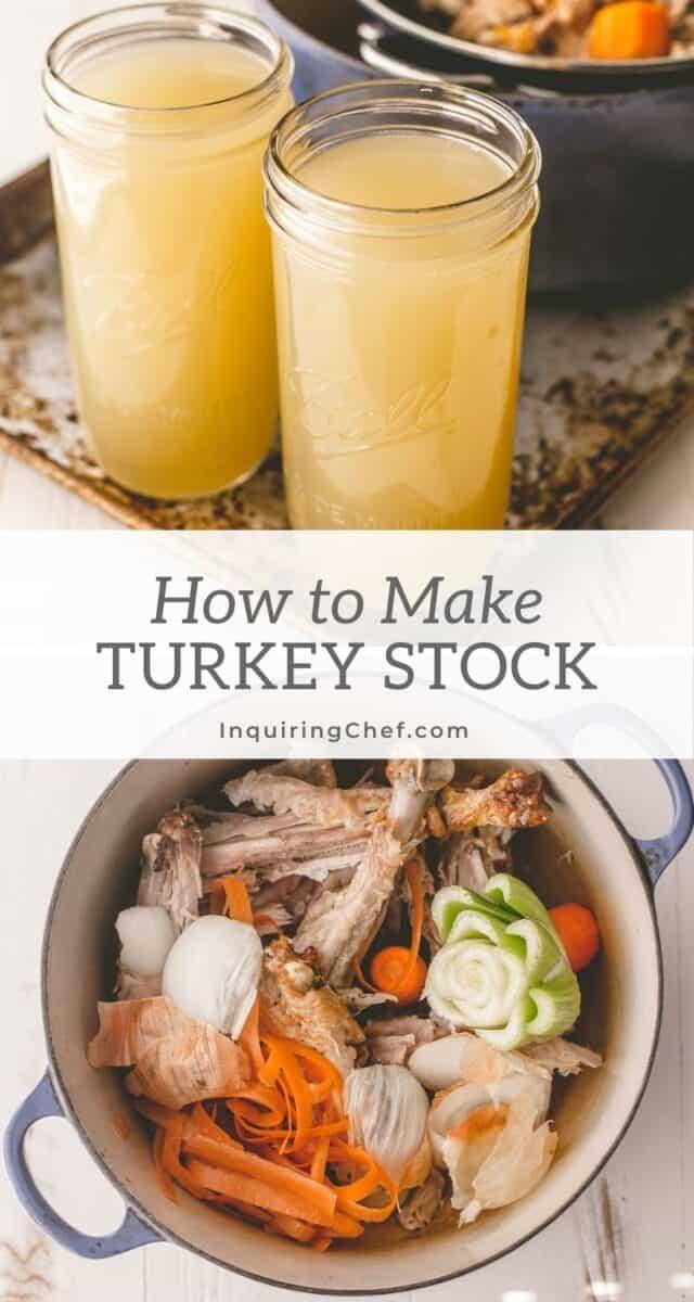 how to make turkey stock