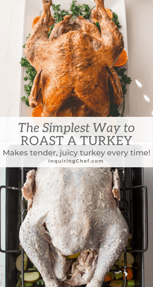 simplest way to roast a turkey