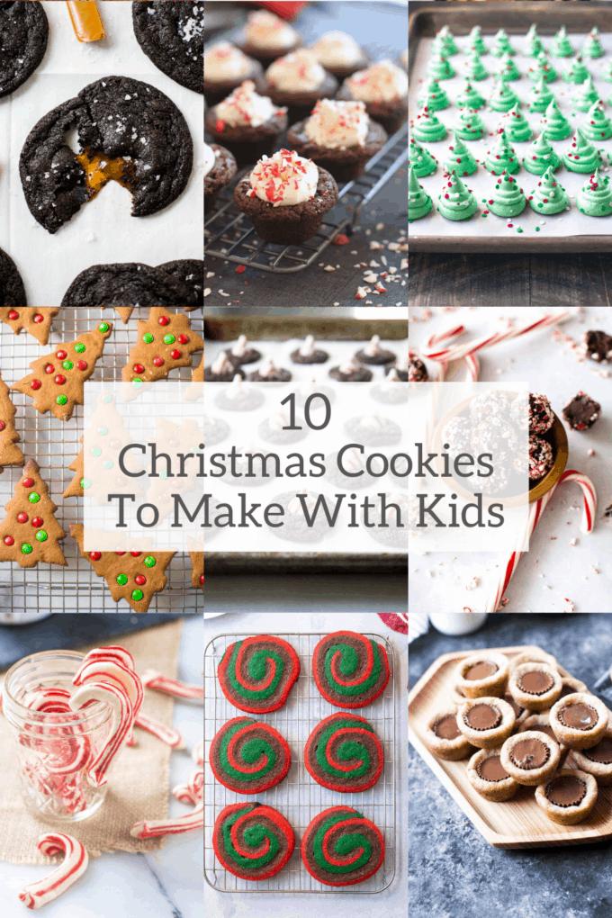 christmas cookies to make with kids