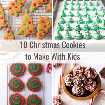 christmas cookies to make with kids