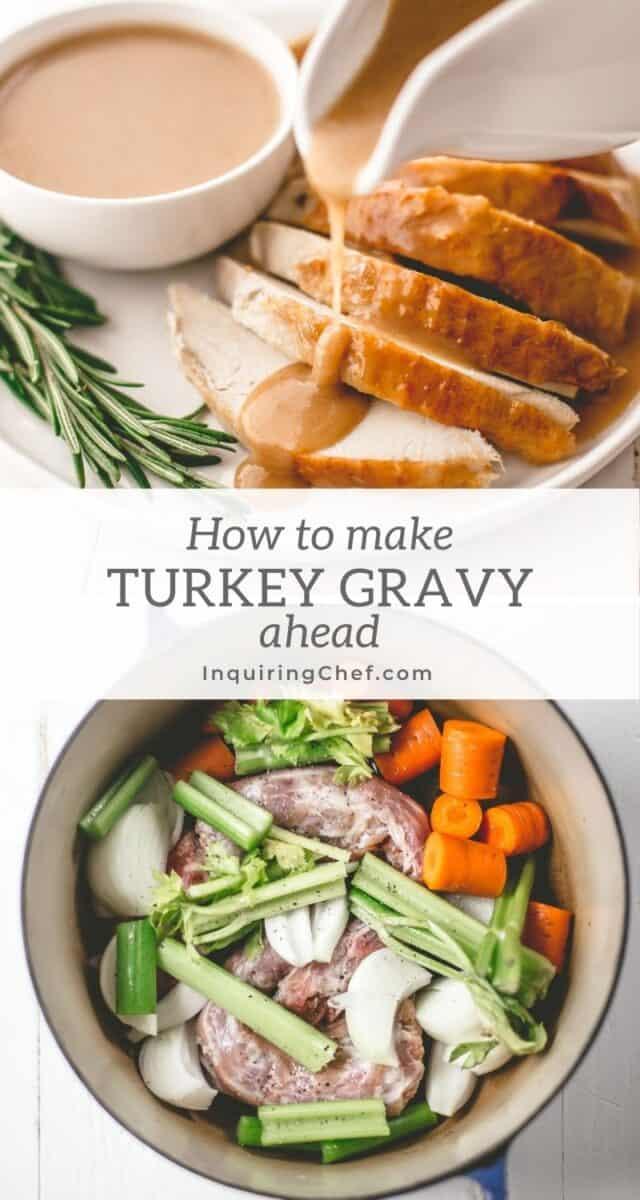 how to make turkey gravy