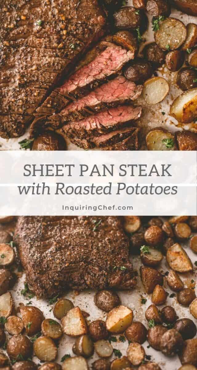 sheet pan steak and potatoes
