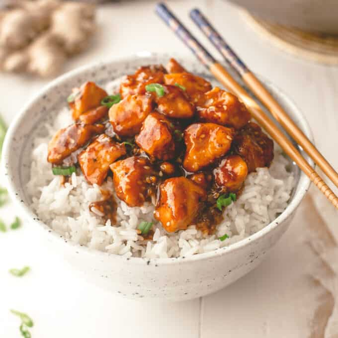 Honey Ginger Chicken Stir-Fry