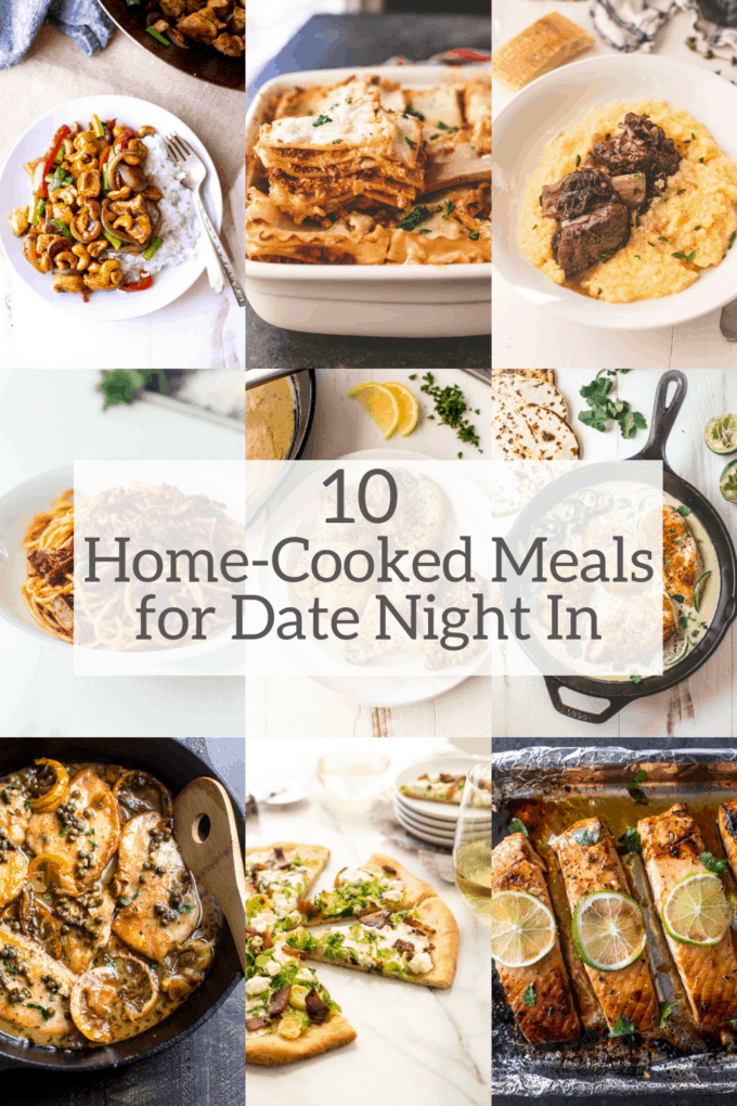 10 Home-Cooked Meals for Date Night In