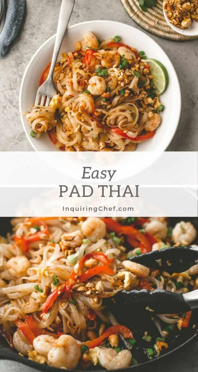 weeknight pad thai