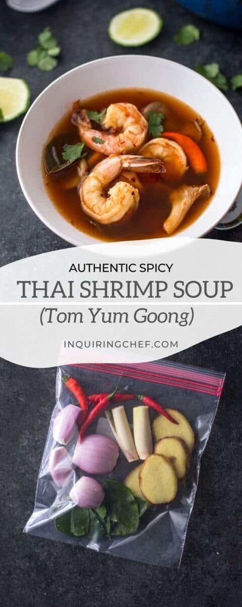 thai shrimp soup