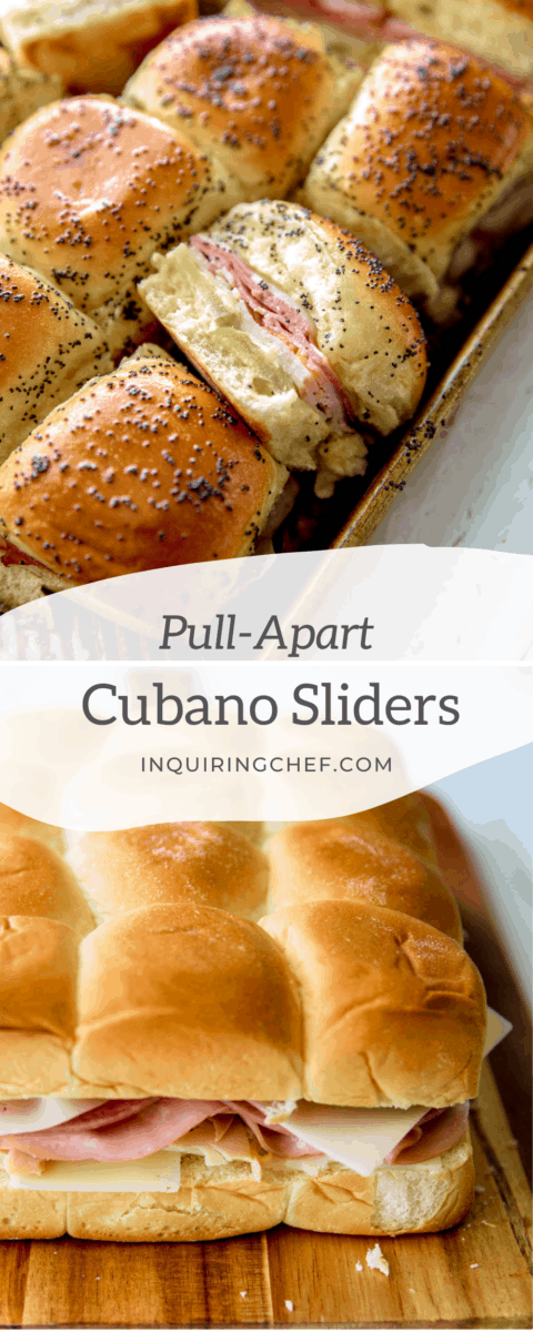 pull apart cubano sliders