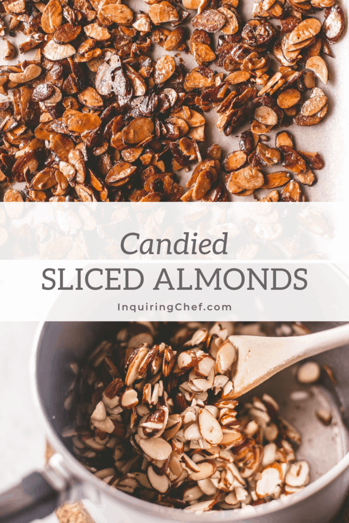 candied sliced almonds