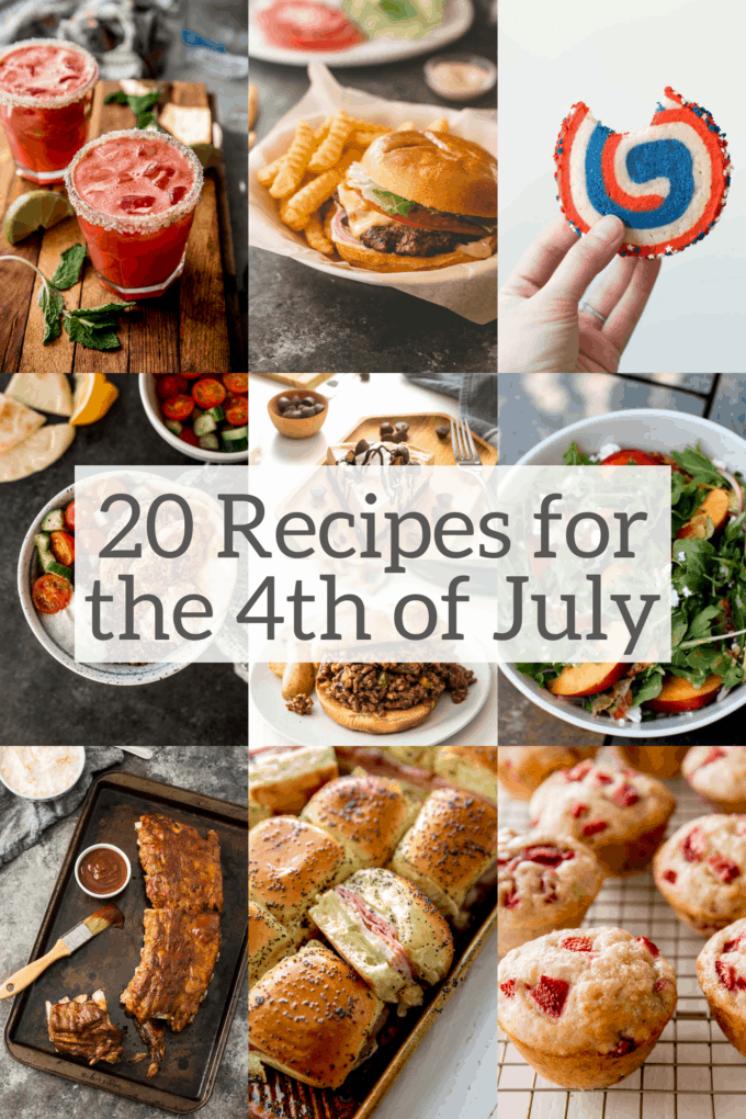 20 recipes for the 4th of July