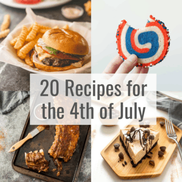 20 recipes for 4th of July