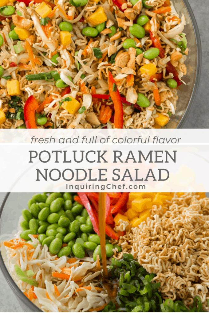 potluck ramen noodle salad