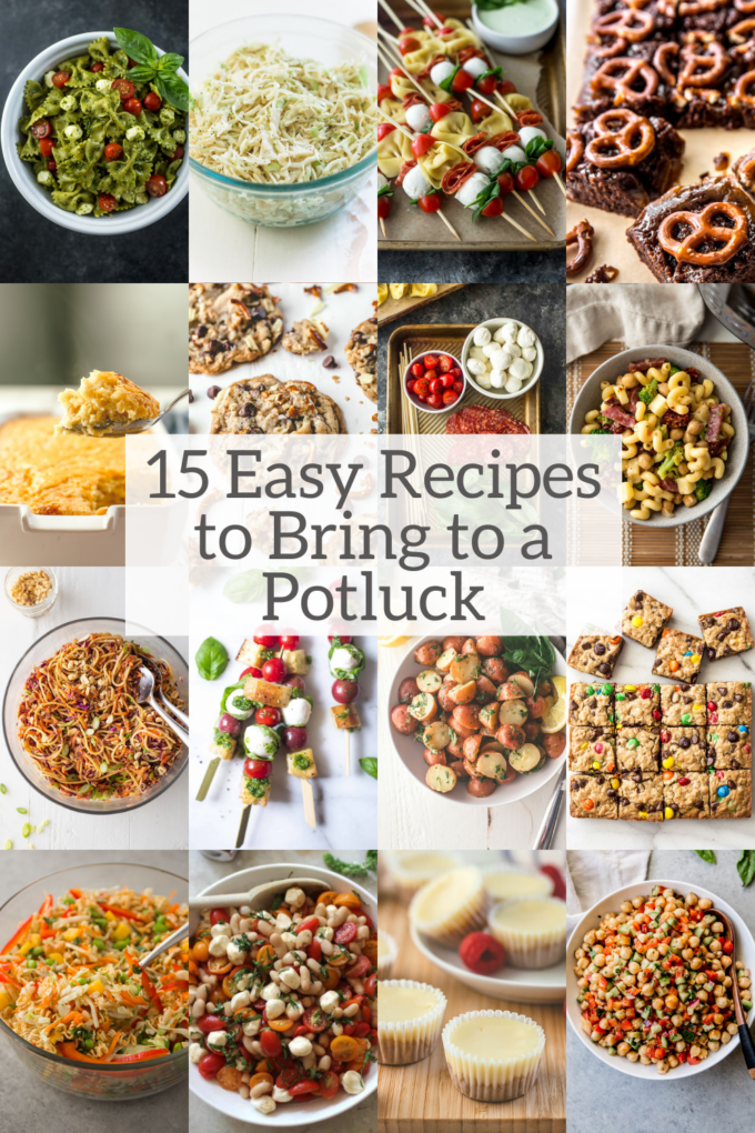 15 Easy Recipes to Bring to a Potluck
