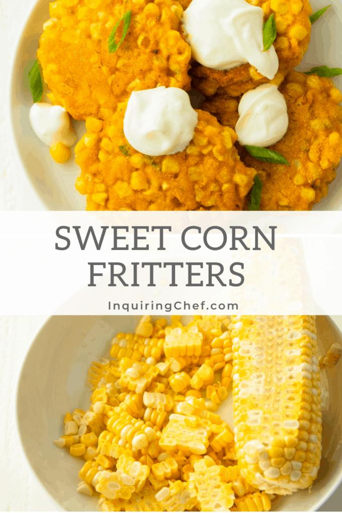 sweet corn fritters