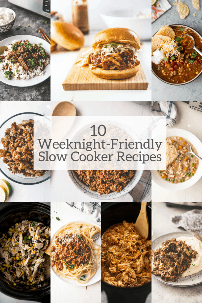 10 Weeknight-Friendly Slow Cooker Recipes