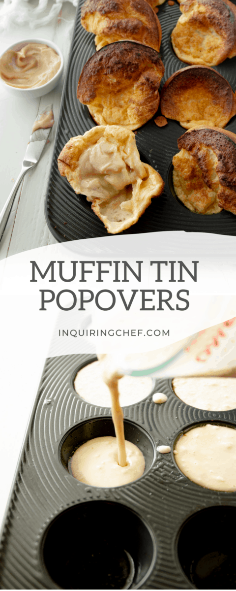 muffin tin popovers